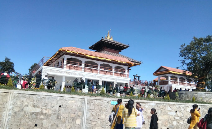Scorpio for Chandragiri Hill Trip